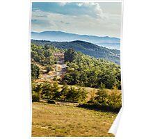 Arezzo, Tuscany (near Castelnuovo) #002 Poster