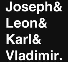 Joseph & Friends - White Text by Heidi Cox