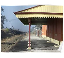 Deepwater Railway Station NSW Poster