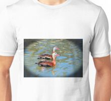 Red Billed Whistling Duck Unisex T-Shirt