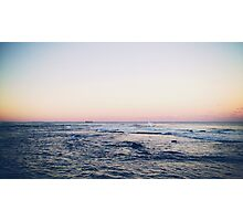 Ocean View From Newcastle Photographic Print