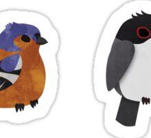 Beautifully Designed Bird Breed Sticker Set Sticker
