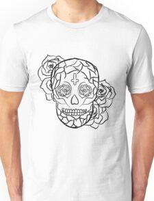 Sugar Skull (Smiling) Unisex T-Shirt