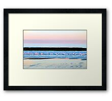 Layers In Color Framed Print
