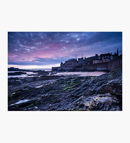 St Malo In Morning Photographic Print