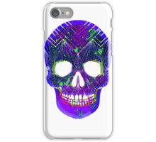 Uber Colour Skull -Print iPhone Case/Skin