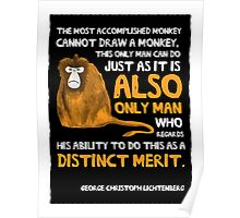 Clever Monkey Poster