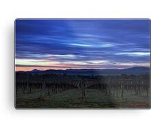 HDR Sunrise behind Holt/Canberra/ACT Metal Print