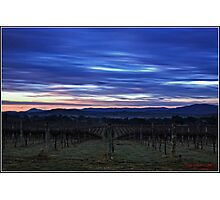 HDR Sunrise behind Holt/Canberra/ACT Photographic Print