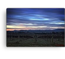 HDR Sunrise behind Holt/Canberra/ACT Canvas Print