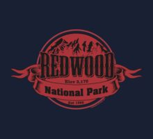 Red Wood National Park, California Kids Tee