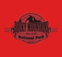 Rocky Mountains National Park, Colorado One Piece - Short Sleeve