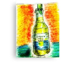 A beer on me... Canvas Print