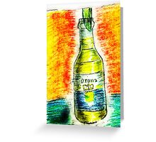 A beer on me... Greeting Card