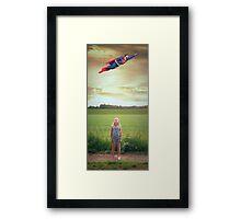 super man Framed Print