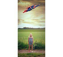 super man Photographic Print