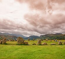Castlerigg Stone Circle by J. Day