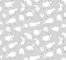 Charity Fundraiser - Grey  Goats by Vicky Webb