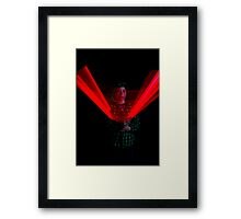 Chritopher the Star Wars being Framed Print