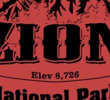 Zion National Park, Utah Sticker