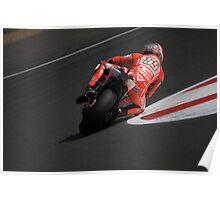 Moto GP Silverstone 2013 Hayden Poster