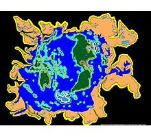 World Watersheds Photographic Print