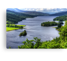 Loch Tummel Canvas Print