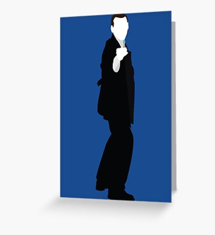 The Ninth Doctor - Doctor Who - Christopher Eccleston Greeting Card