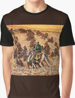Driving The Herd, The Painting Graphic T-Shirt