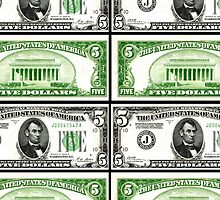 FIVE DOLLAR BILLS by IMPACTEES