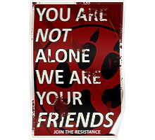 Furry Propaganda : You are not alone Poster
