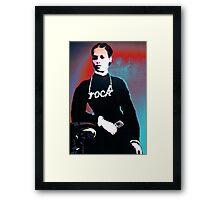 Rock chick! Framed Print