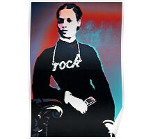Rock chick! Poster