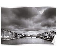 St Patrick's Bridge, Cork, Ireland Poster