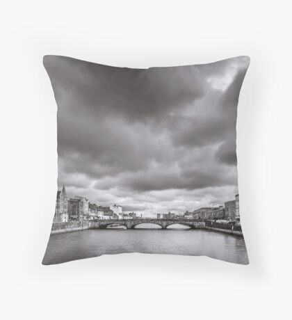 St Patrick's Bridge, Cork, Ireland Throw Pillow