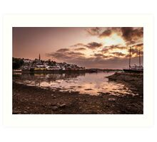 Crosshaven Evening in Co Cork Art Print