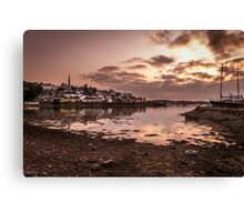 Crosshaven Evening in Co Cork Canvas Print