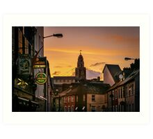 Shandon Bells from Afar Art Print