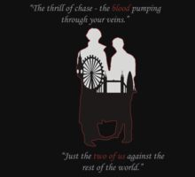 Sherlock S3 shirt - Just the two of us by Angrahius