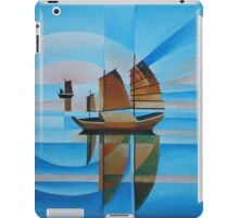 Soft Skies, Cerulean Seas and Cubist Junks iPad Case/Skin