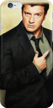Nathan Fillion by whatthefawkes