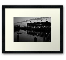 barely there floating beacon Framed Print