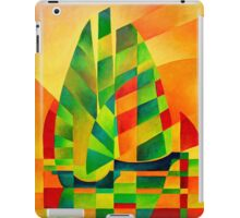 Chinese Junks, Sunset, Sails and Shadows iPad Case/Skin