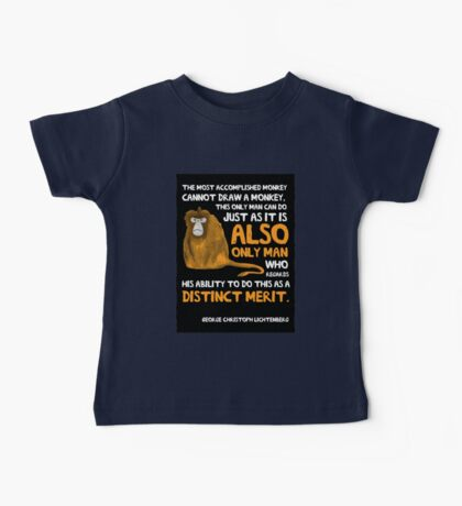 Clever Monkey Baby Tee