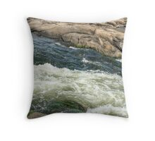 The James River Current Throw Pillow