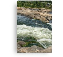 The James River Current Canvas Print