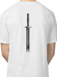 Double Bladed Sword Classic T-Shirt