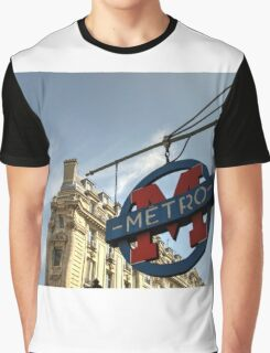 M for Metro  Graphic T-Shirt