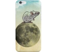Tiny and the cheese moon iPhone Case/Skin