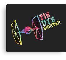 Tie Dye Fighter Canvas Print